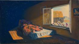 Иллюстрация к произведению Николая Гоголя «Мертвые души»