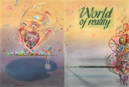 "Cover the to Moscow Artists directory ""World of reality"""