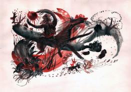 Иллюстрация к сборнику произведений А.М.Ремизова «Избранное»